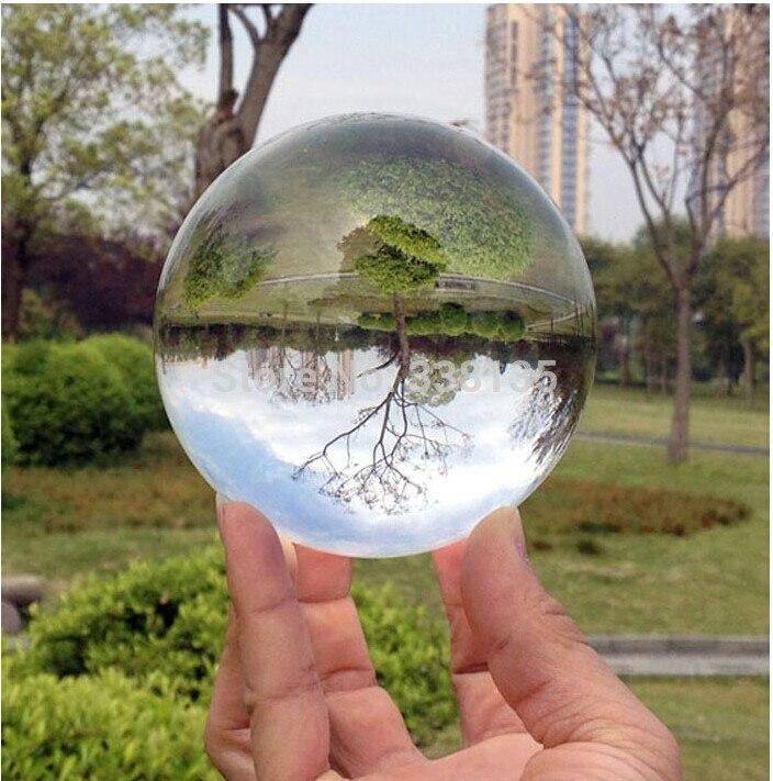 70mm Rare Effacer Naturel cristal de quartz balle Sphère cristal boules de verre pour vente fengshui balle pour la maison décoration