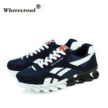 1a1aee337 Wheresroad Outono Versão Coreana Dos Homens Sapatos Casuais Moda Respirável  Homens Das Sapatilhas sapatos masculinos Forrest