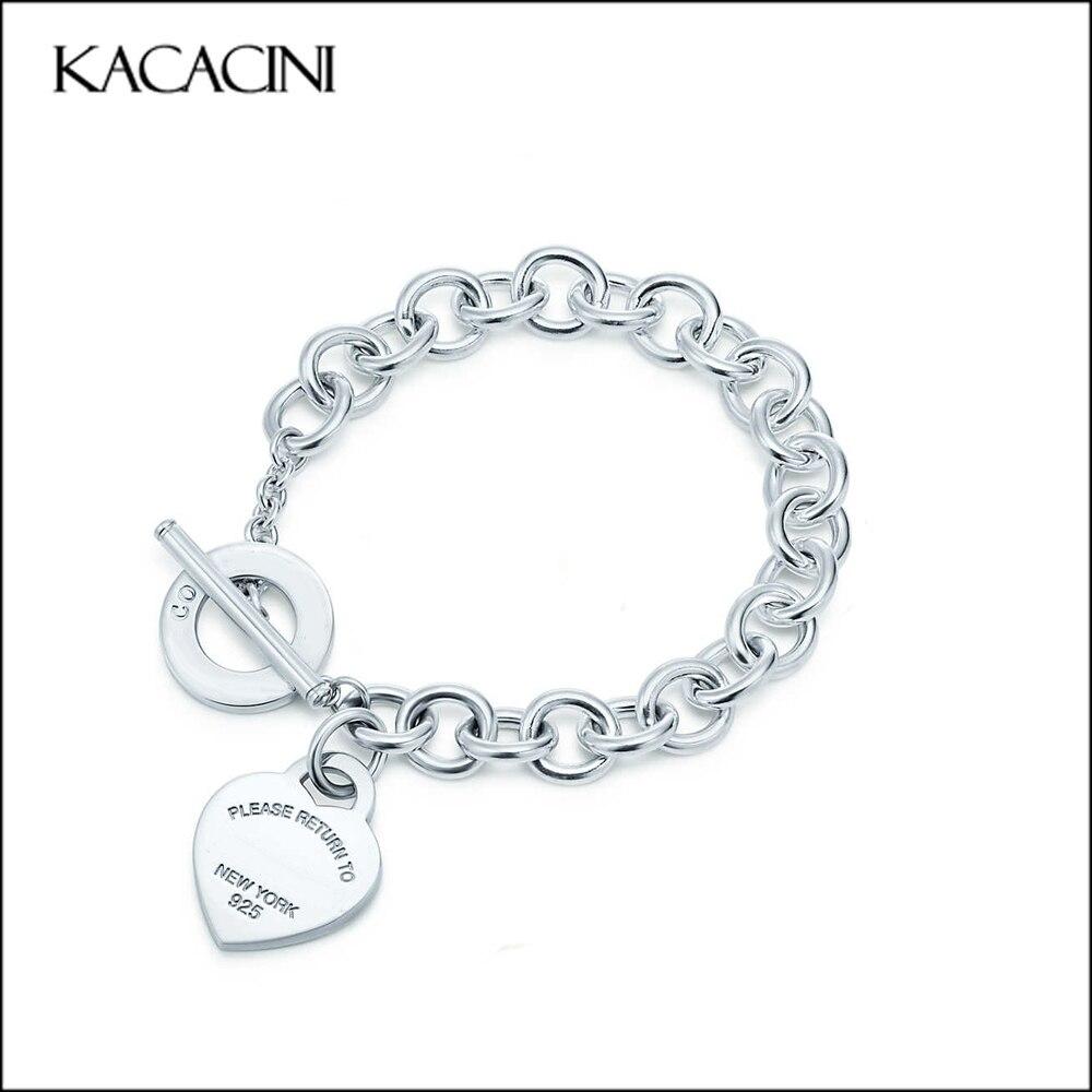 Prix pour 2017 nouveau femmes amour de haute qualité en acier inoxydable bracelet Européen et Américain de mode bijoux livraison gratuite