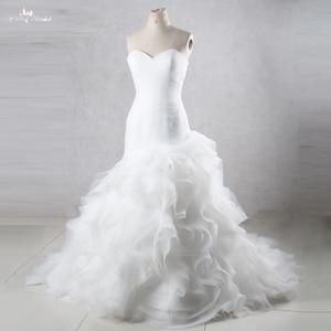 Image 1 - TW0195 vestidos de Boda de Princesa de sirena con falda con volantes vestidos de novia baratos hechos en China