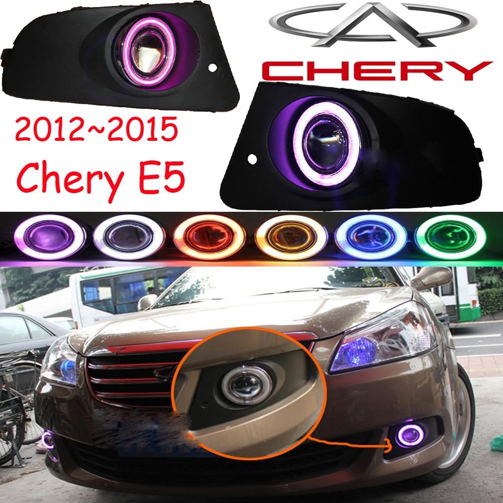 Чери е5 противотуманная фара,2012~2015,Бесплатная доставка!Чери е5 дневного света,2шт+провод вкл/выкл:галоген/Ксеноновые лампы+балласт,Чери е5