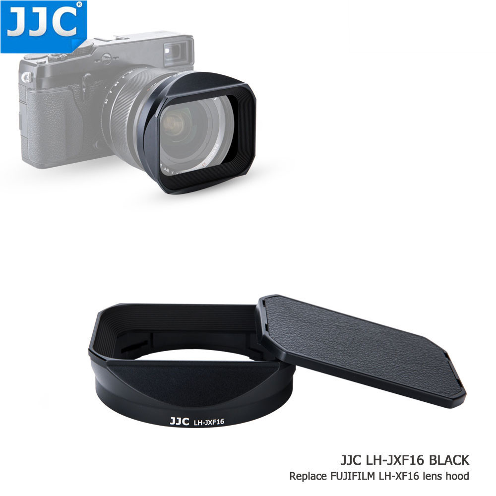 JJC 67mm Thread Size Bayonet Square Camera Lens Hood for FUJINON LENS XF16mmF1.4R WR Replaces LH-XF16 jjc lh da09