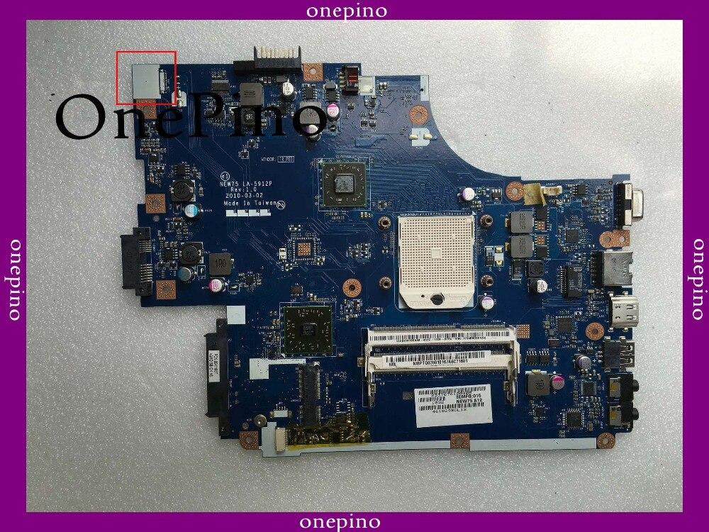 Подходит для acer 5551 г LA-5912P 5552 Материнская плата ноутбука 5551 материнская 100% тестирование
