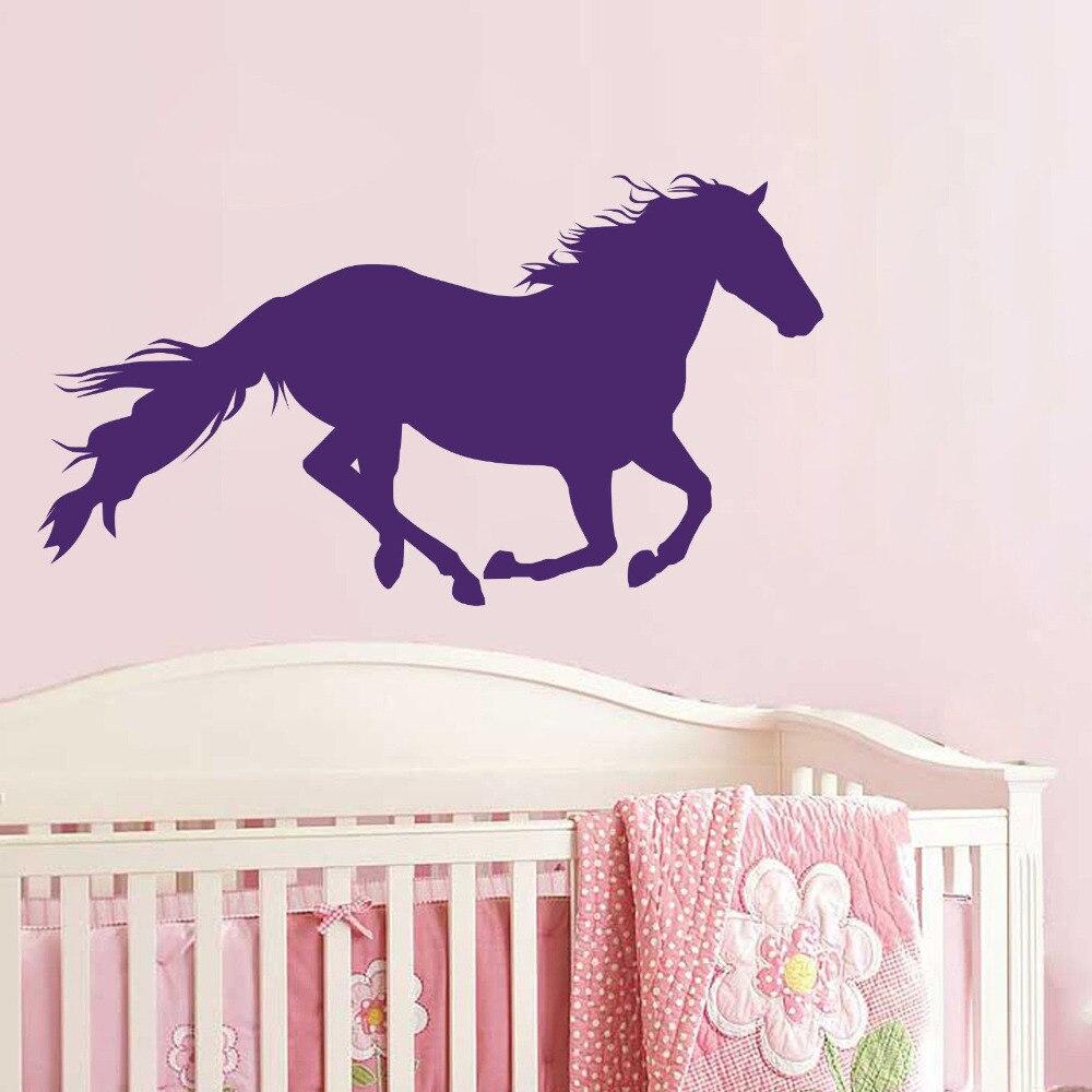 【ᗑ】horse Running Wall ᗐ Vinyl Vinyl Decal Sticker
