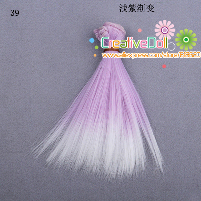 free-shipping-15cm-wholesales-Straight-Hair-DIY-Hairwigs-For-BJD-for-monster-high-for-barbie-dolls-4