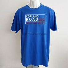 Glasgow Rangers T-shirt Copland Road G51 Ibrox Mens Football Slogan Tshirt  Gift(China be921472d