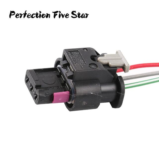 flat housing connector plug 3 pin wiring harness for vw jetta rh aliexpress com