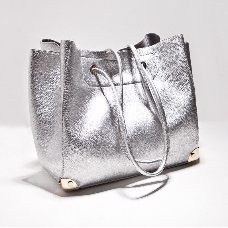 ФОТО Women Leather Handbags Casual Totes European Sexy Ladies Bucket Bag Designer Handbags High Quality bolsos de las mujeres C75