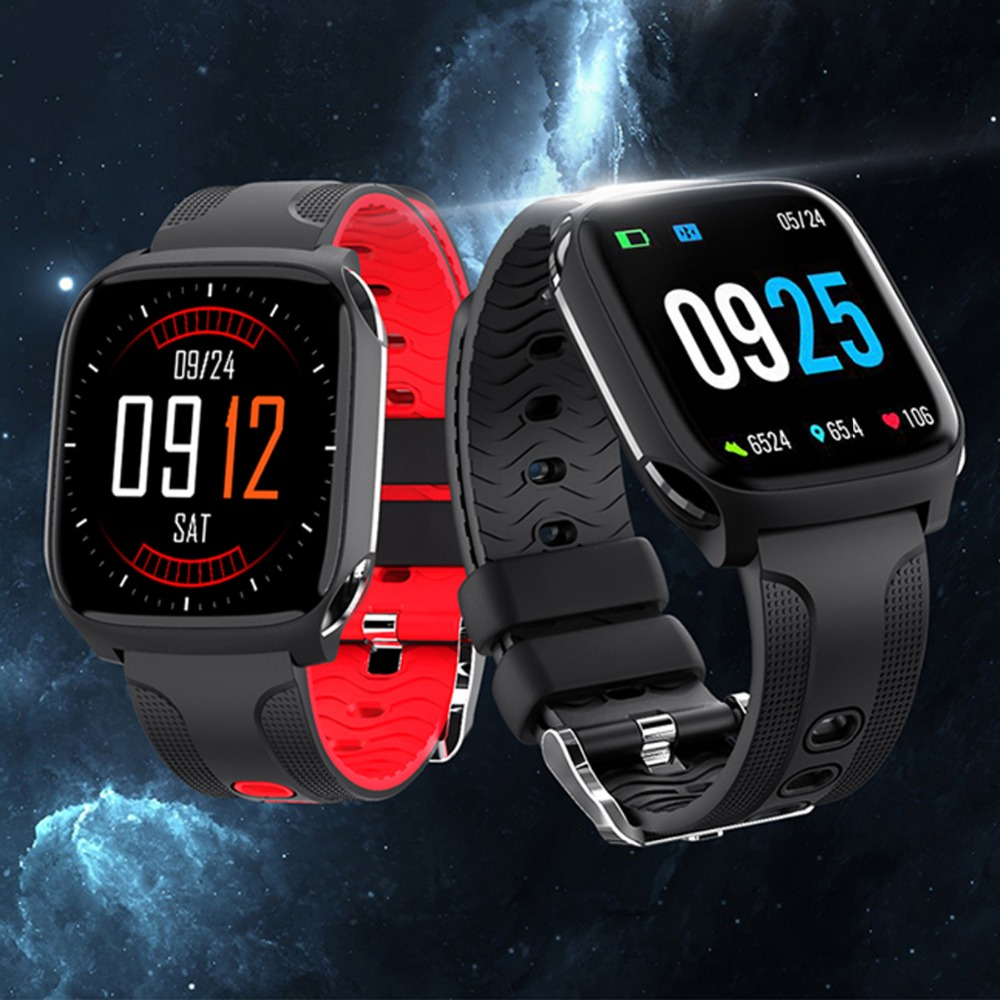 Watches Heart-Rate-Monitoring Blood-Pressure-Measurement Waterproof Sport-Made Fashion