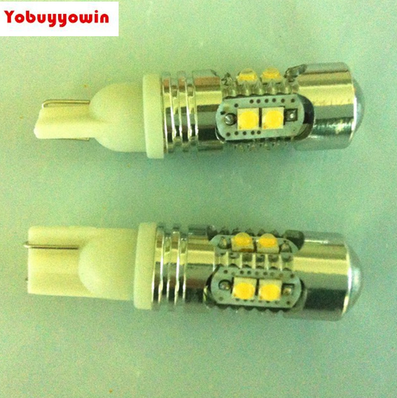 Free shipping 10pc Car T10 CREE Chip Led PARKING 50W Super Bright White DC 12V high power reverse light LED W5W,T10,194,168 цена и фото