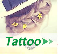 Wholesale Dandelion Aerial Bird Design Small Tattoo Sticker Body Art Waterproof Temporary Tattoos For Men Women RC2252 20