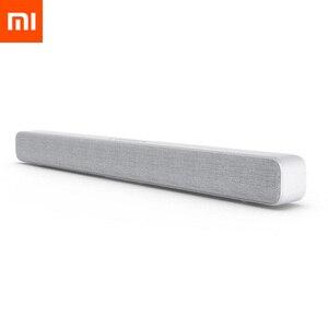 Image 1 - Xiaomi mijia bluetooth sem fio alto falante tv barra de som soundbar suporte óptico spdif aux para mi casa inteligente teatro
