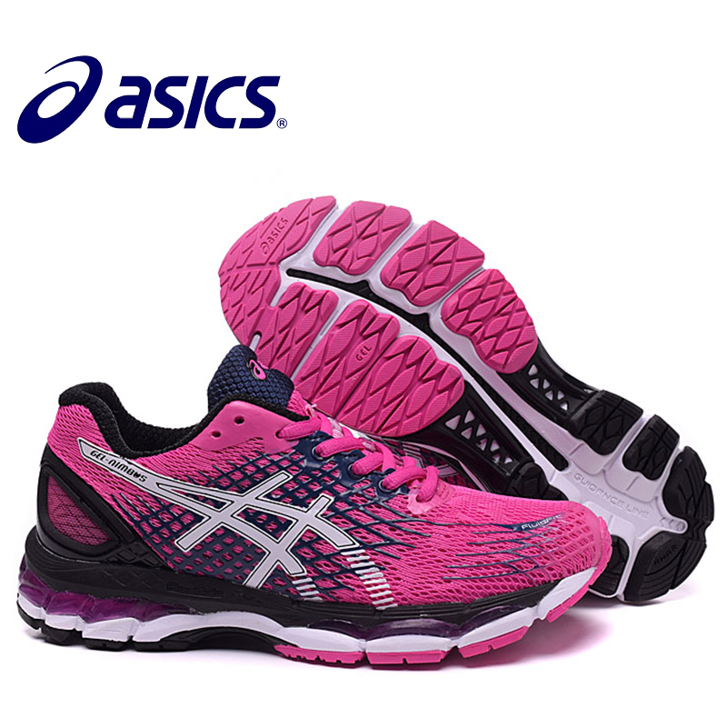 ASICS GEL-KAYANO 17 Women Professional Shoes Stability Outdoor Running Shoes ASICS Sports Shoes Sneakers Outdoor Athletic Shoes цены
