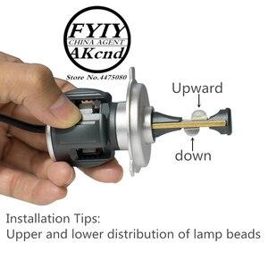 Image 5 - Motoecycle Headight Roller Nebel Scheinwerfer LED Moto Arbeits Spot Licht Kopf Lampe Für Vespa GTS 300 SPRINT 150 Scheinwerfer