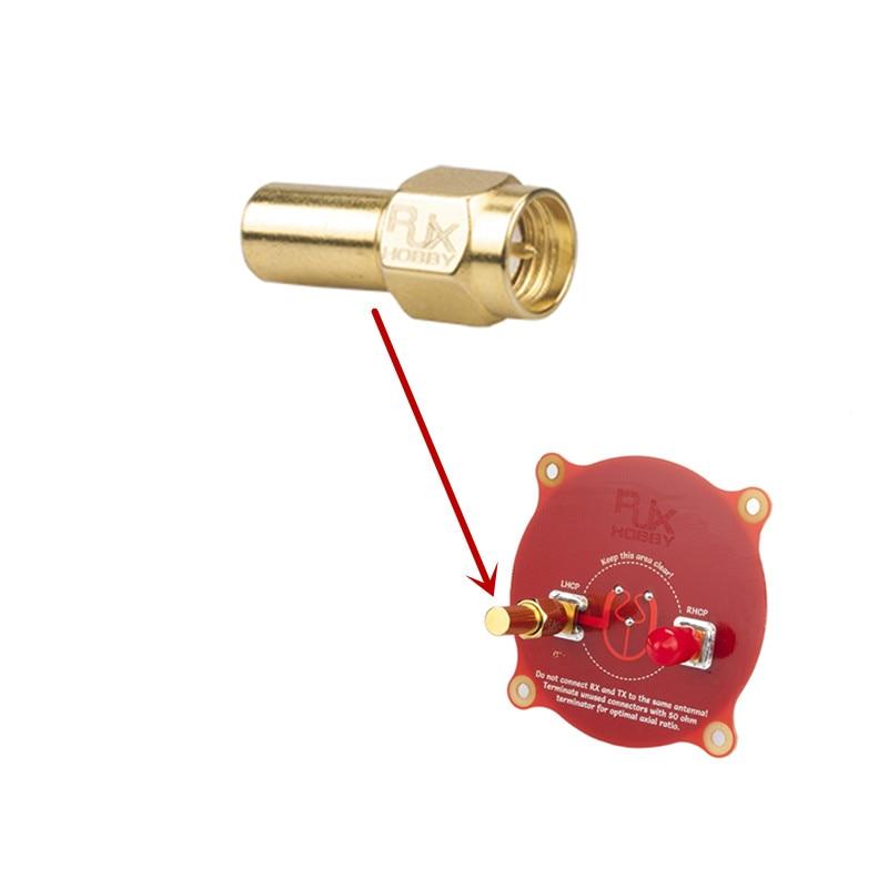 RJXHOBBY 1 PCS Électronique RF coaxial connecteur adaptateur SMA mâle coaxial Charges de Terminaison 1 W DC-3.0 GHz 50OM