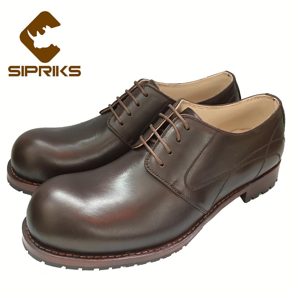Schuhe Smoking Sipriks Business Stil Formale Runde US256 Einzigartige Anzug Herren Rahmengenäht Derby Große Büro 30OFF Herren Kappe Nähen 2 Schuhe NwvO80mn