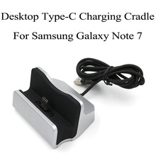 Desktop USB C mobile phone holder Dock Type C Charging Cradle for Samsung galaxy note 7 letv meizu xiaomi 5 for huawei P9 plus