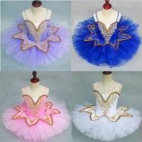 Professionl Ballet Tutu Swan Lake Ballet Costume Ballerina Dress Kids Child Ballet Tutu Skirt Dance Dress For Girls