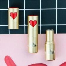 Топ DIY помада ручной работы, туба с красным сердечком, золотые и черные косметические контейнеры для макияжа, секс бальзам для губ, бальзам для губ, румяна 200 шт./лот