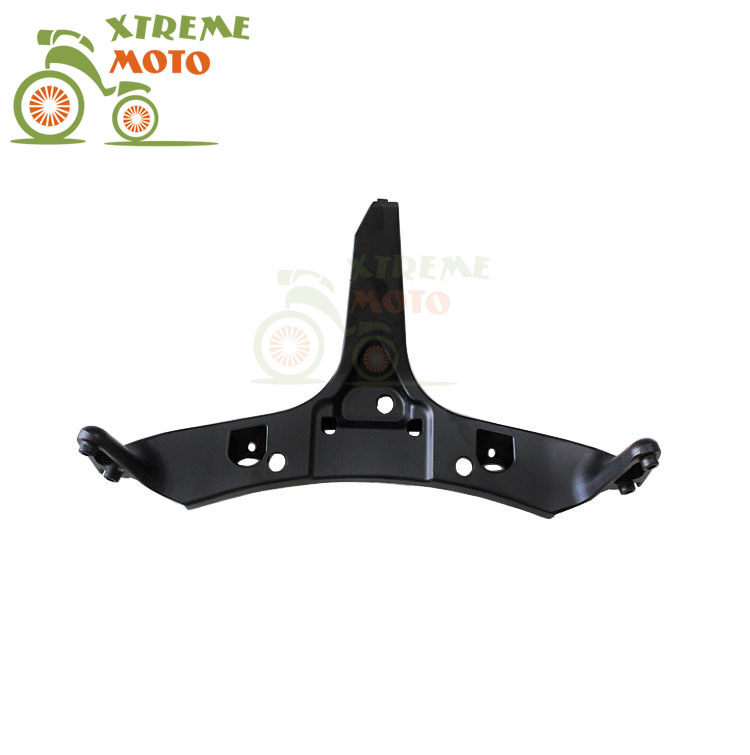 Aluminum Black Motorcycle Front Upper Fairing Bracket Stay Racer Light For HONDA CBR600RR 2003-2006 2003 2004 2005 2006 front upper fairing cowling headlight headlamp stay bracket for 2001 2002 2003 2004 2005 2006 honda cbr600f4i cbr 600 f4i pc35