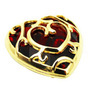 Подвеска и брелок в форме сердца Легенда о Зельде в подарочной коробке 1