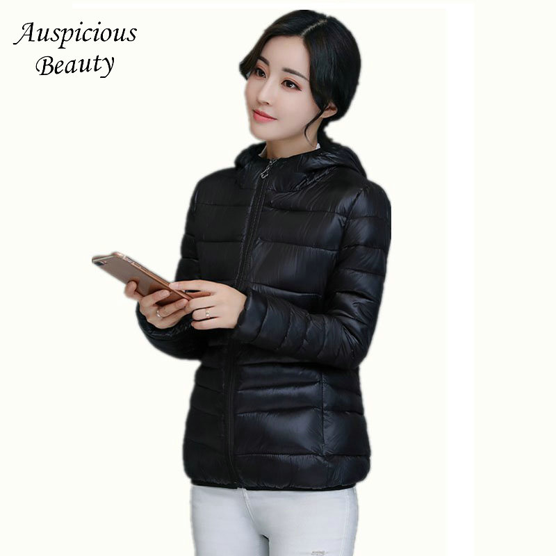 Excellent Quality Winter Coats Female Warm Jackets Cotton Padded Short Parkas Outerwear Lady Hoody Wadded Women Dress CXM240 ...