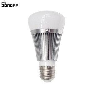 Image 2 - Sonoff B1 Led הנורה דימר Wifi חכם אור נורות שלט רחוק Wifi מתג אור Led צבע שינוי אור הנורה עובד עם Alexa