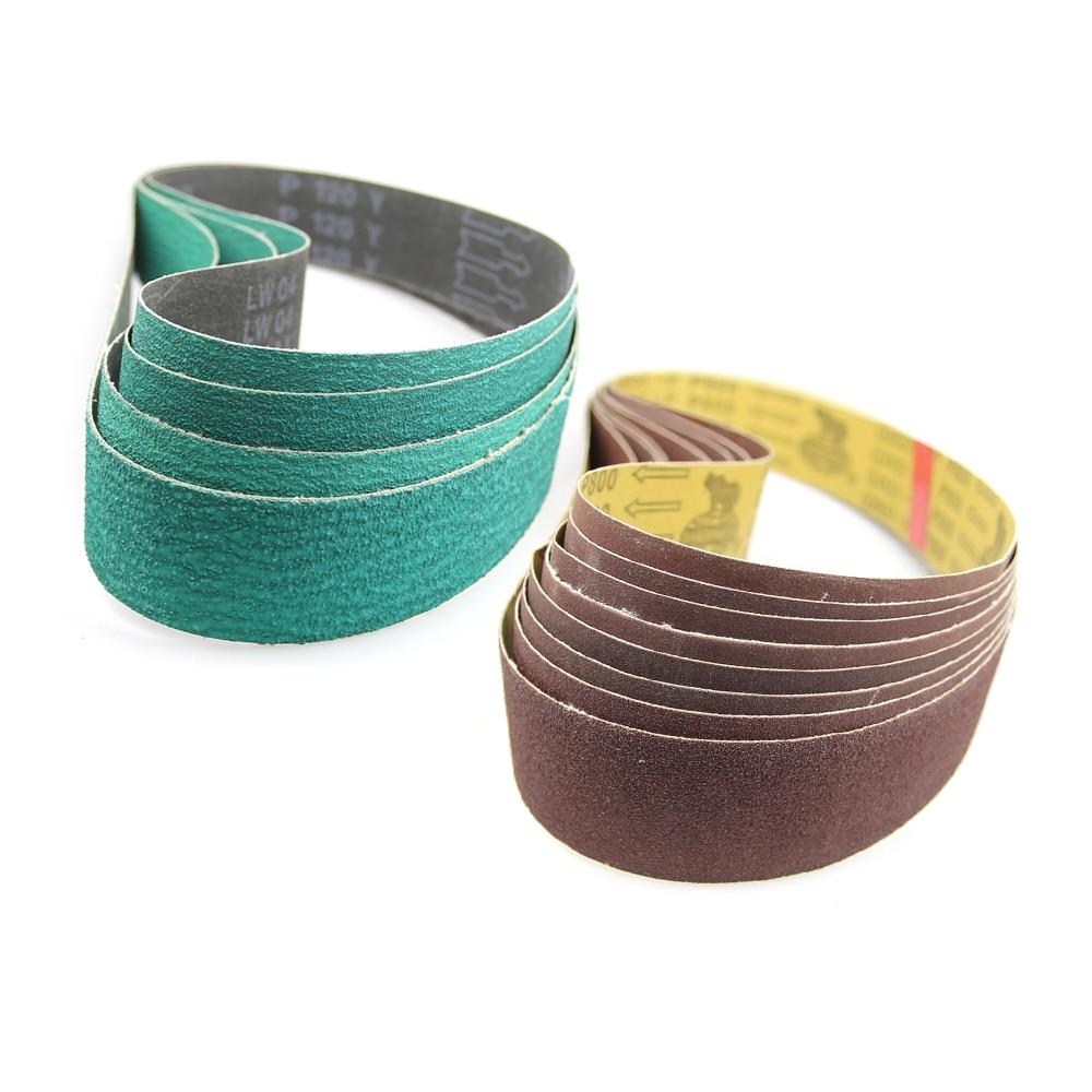 1 Piece 915*50mm Sanding Bands Belt Grinder Accessories P40-P800