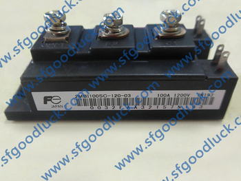 2MBI100SC-120-03 IGBT 1200 V 100A tanie i dobre opinie Fu Li Nowy Module