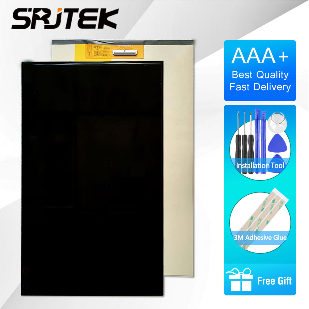 SRJTEK 10.1 LCD Display For KD101N42-40NA-A004-REVB KD101N55-40NA-A005 Tablet PC LCD Screen Digitizer Sensor Matrix original 10 1inch lcd screen kd101n37 40na a5 kd101n37 40na kd101n37 for tablet pc free shipping