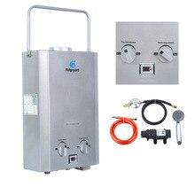 AU местная! 6L IAPMO R& T газовый водонагреватель портативный душ Кемпинг LPG открытый мгновенный