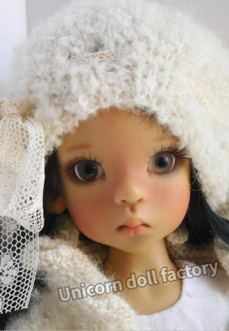 Bjd boneca 1/6 kaye wiggs canela shion boneca modelo de alta qualidade presente aniversário livre olhos