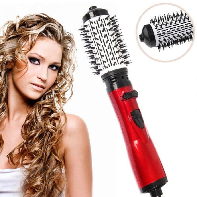 3 In 1 Hot Air Brush Professional Hair Styler Electric Hot Brush Multifunction Hair Modeler Curler & Straightener Comb Styling