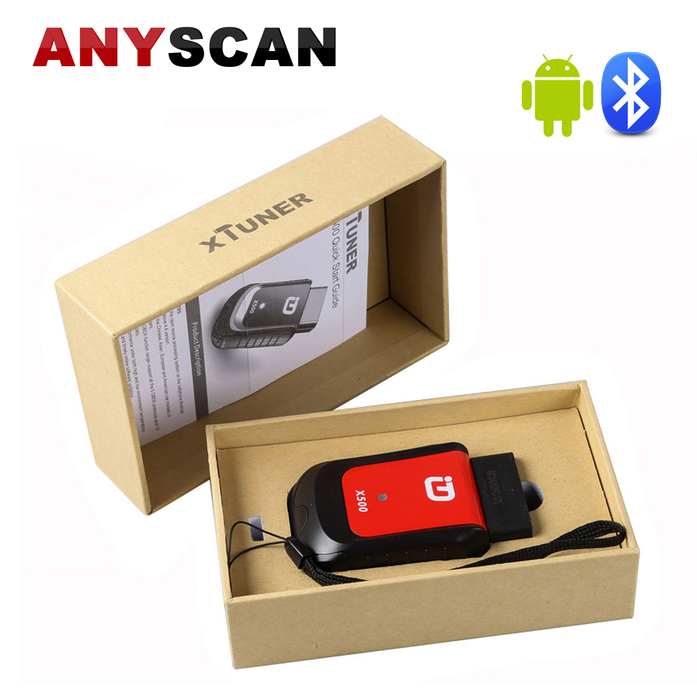 XTUNER X500 Bluetooth Car Diagnostic Tool ABS Battery DPF EPB SRS TPMS IMMO Key Injector Reset for Andriod Better than Vpecker xtool 16pin iobd2 car diagnostic tool for android blue