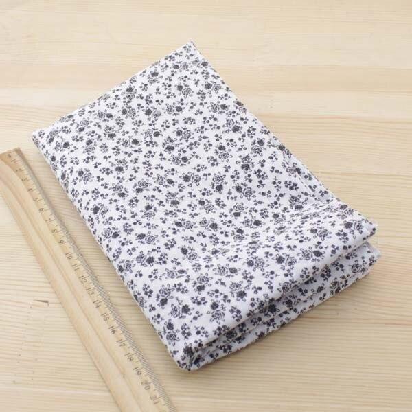 Kain katun Booksew 7 pcs 50 cm x 50 cm Hitam jaringan Tekstil untuk - Seni, kerajinan dan menjahit - Foto 5
