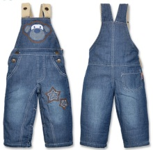Baby Denim Bib Pants