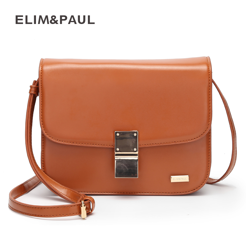 ELIM PAUL women messenger bag crossbody small bag fashion ladies shoulder shopping bags casual hasp zipper