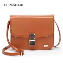 ELIM & PAUL frauen umhängetasche crossbody kleine tasche mode damen schulter einkaufstaschen beiläufige haspe reißverschluss