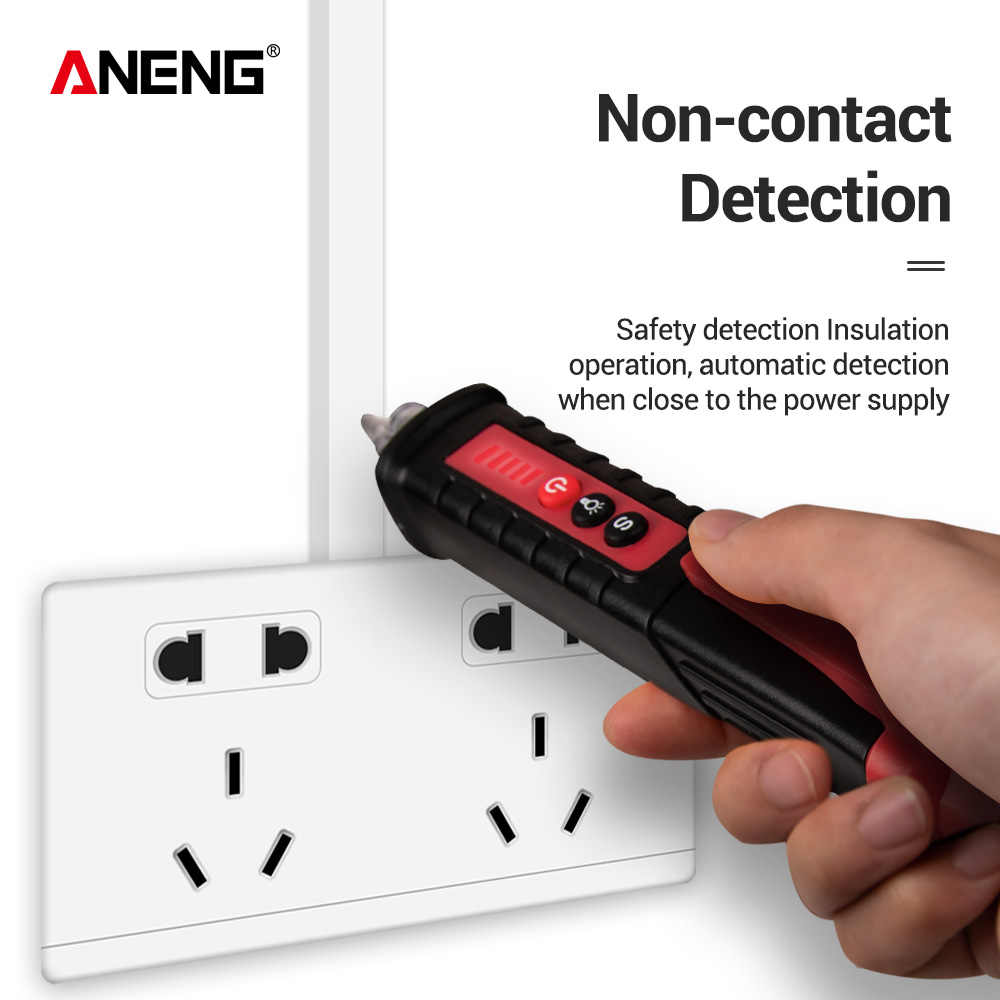 Pencil Test Detector Electricity AC LED Electrical Testers tension