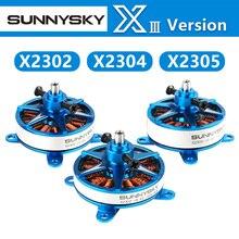 Новое поступление Sunnysky F3P Крытый Мощность X2302 X2304 X2305 1400KV 1480KV 1500KV 1620KV 1650KV 1800KV 1850KV двигатель для модели RC