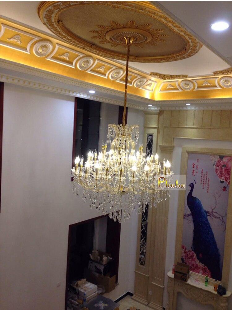 Maria Theresa Crystal Chandelier Lighting Modern Crystal