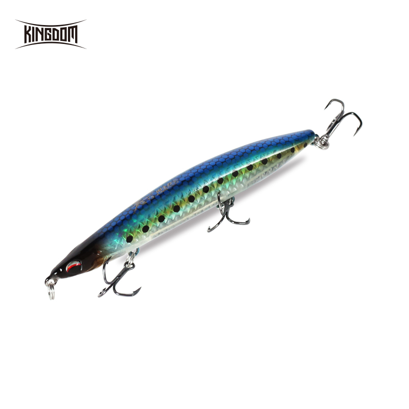 Kingdom Fishing Hard Lure 100mm 9g 17g/125mm 17g 28g Floating&Sinking Pencil Bait Wobblers Five Colors Available Model 3511