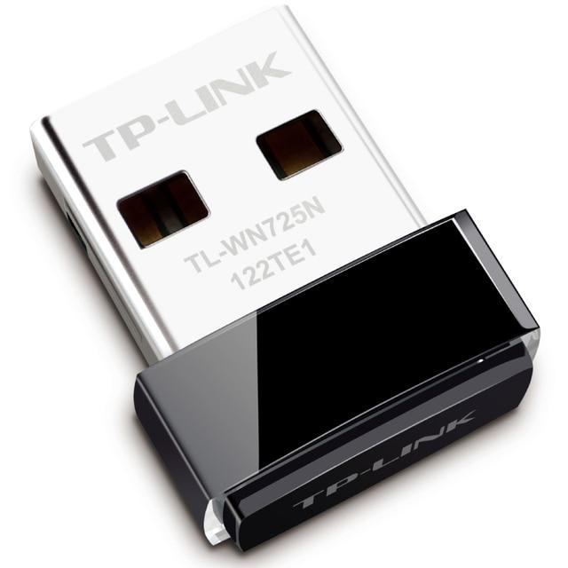 TP-Link USB Wifi150MUSB TL-WN725 Wi-fi USB Notebook Placa de Rede Sem Fio Wi-fi Transmissor Receptor USB Sem Fio Mini Pci-e