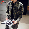 Thick Velvet Jacket Frock Coat Mens Camouflage Jackets Cotton Male Fashion 2016 New Autumn And Winter autumn Coats Size M-XXL