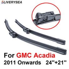 QEEPEI Wiper Blade For GMC Acadia 2011 Onwards 24+21 High Quality Iso9001 Natural Rubber Clean Front Windshield CPC1