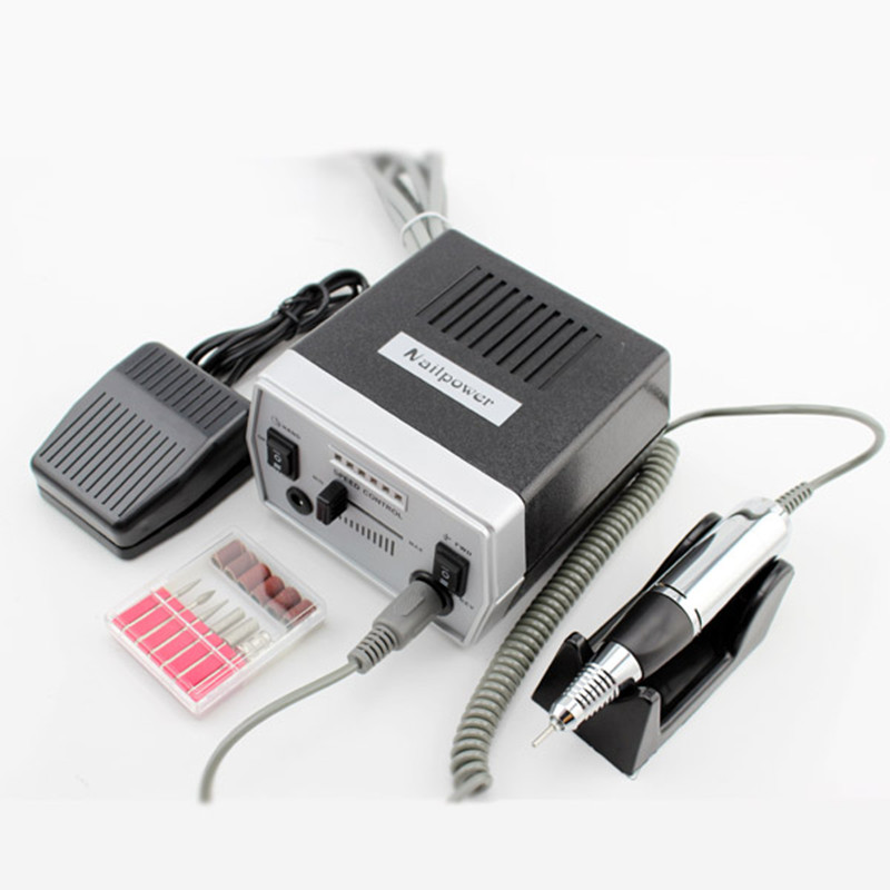 Professional Electric Nail Manicure Machine 110-220V EU Plug Жақсартылған Дірілдеу Nail Art Nail Tools