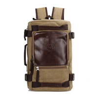 2017 Large Capacity Rucksack Men S Canvas Backpack New Fashion Men Backpack MULTIFUNCTION Leisure Travel Men