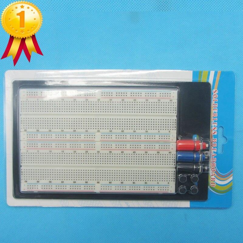 1660Tie-point Prototype Solderless Breadboard Electronic Experiment Board ZY-204