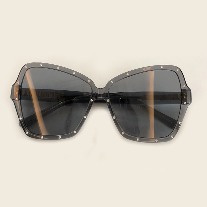 no No Schmetterling Uv400 Sol 4 no 3 no Shades 2019 Verpackung 2 no Marke Designer Oculos Luxus no Mode Qualität 1 Mit Sonnenbrille Feminino Frauen De 6 Hohe 5 Box UOBq5q