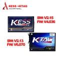 2016 Más Reciente V2.23 V4.036 Firmware + KTAG KESS V2 V2.13 FW V6.070 K Tag ECU Programador Herramienta Kess V2 NoToken Master ilimitado